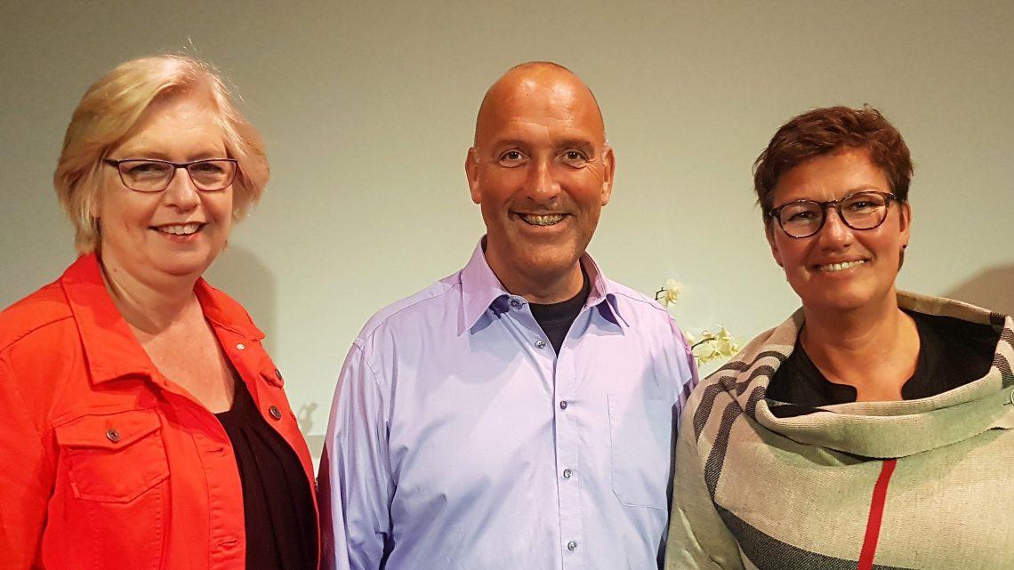 Jubilarissen Promising Voices 25 jaar lidmaatschap